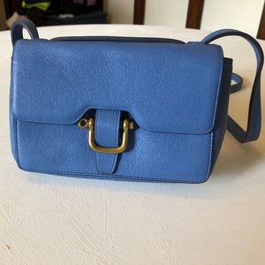 J.Crew Edit Bag in Calm Lagoon
